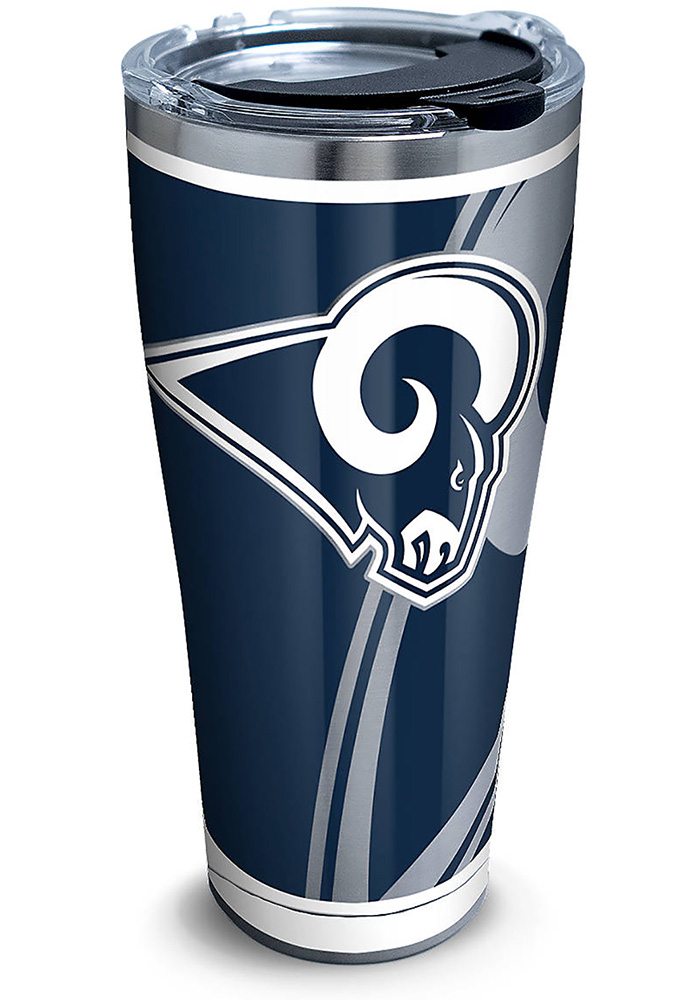 Tervis Tumblers Los Angeles Rams Rush 30oz Stainless Steel Tumbler - Blue - Image 1