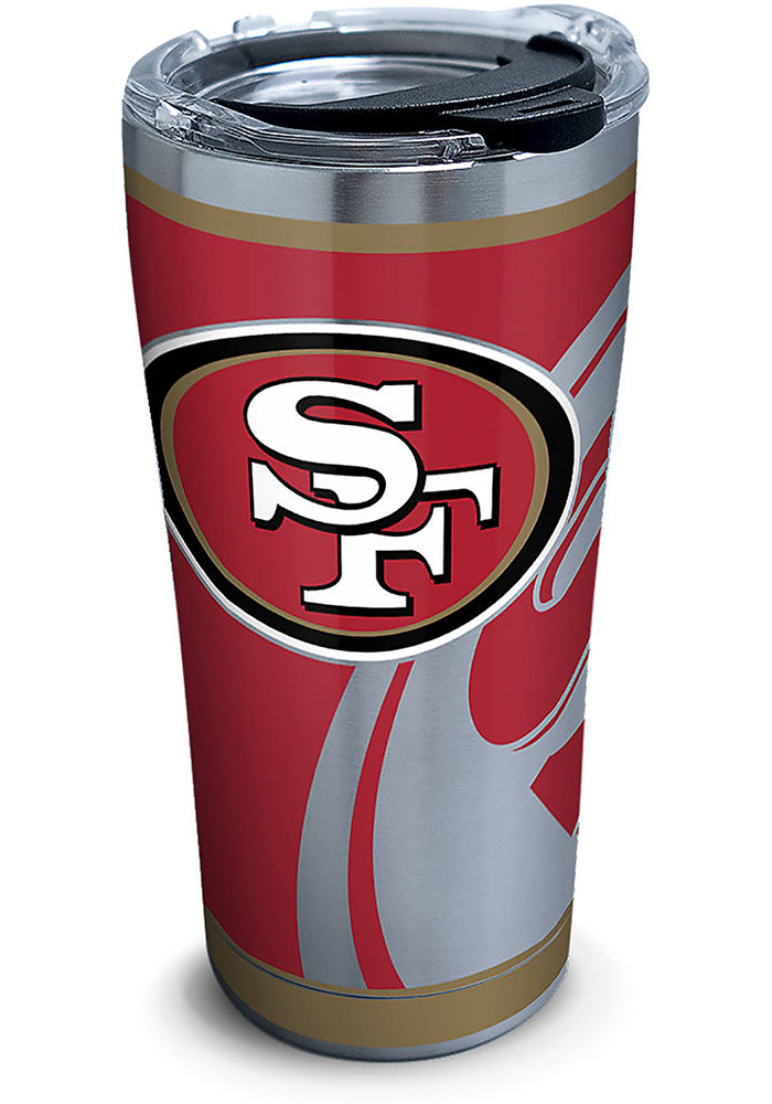 Tervis Tumblers San Francisco 49ers Rush 20oz Stainless Steel Tumbler - Red