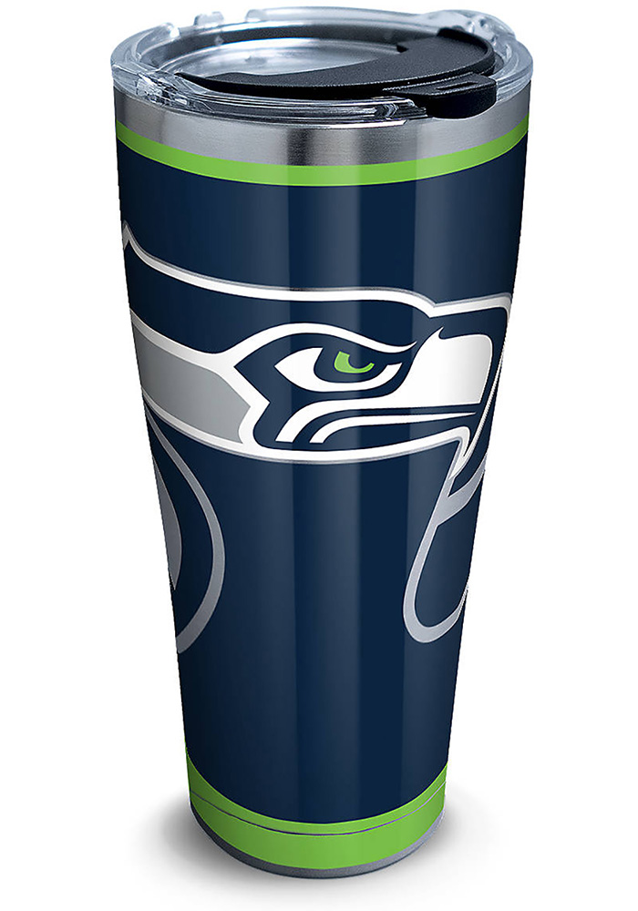 Tervis Tumblers Seattle Seahawks Rush 30oz Stainless Steel Tumbler - Blue