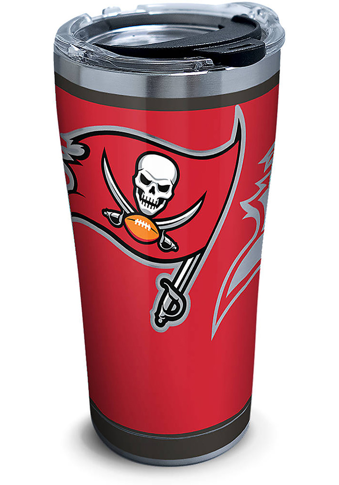 Tervis Tumblers Tampa Bay Buccaneers Rush 20oz Stainless Steel Tumbler - Red