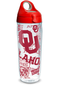 Oklahoma Sooners 24oz All Over Water Bottle