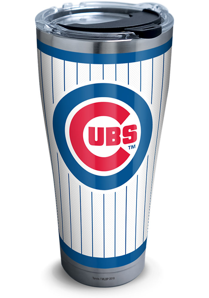 Tervis Tumblers Chicago Cubs 30oz Pinstripes Stainless Steel Tumbler - Blue