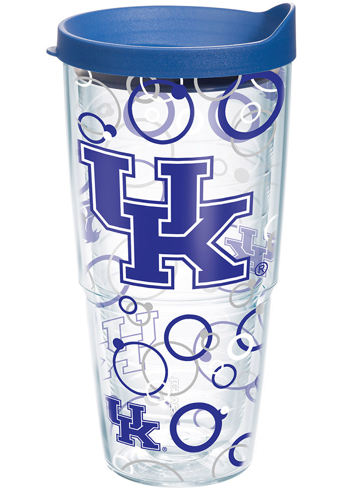 Kentucky Wildcats 24oz Bubble Wrap Tumbler - Image 1