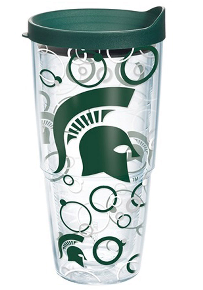 Michigan State Spartans 24oz Bubble Wrap Tumbler - Image 1