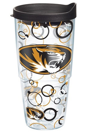 Missouri Tigers 24oz Bubble Wrap Tumbler
