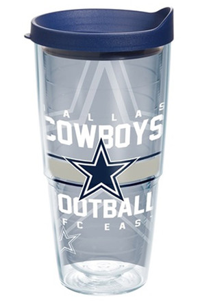 Dallas Cowboys 24oz Gridiron Tumbler
