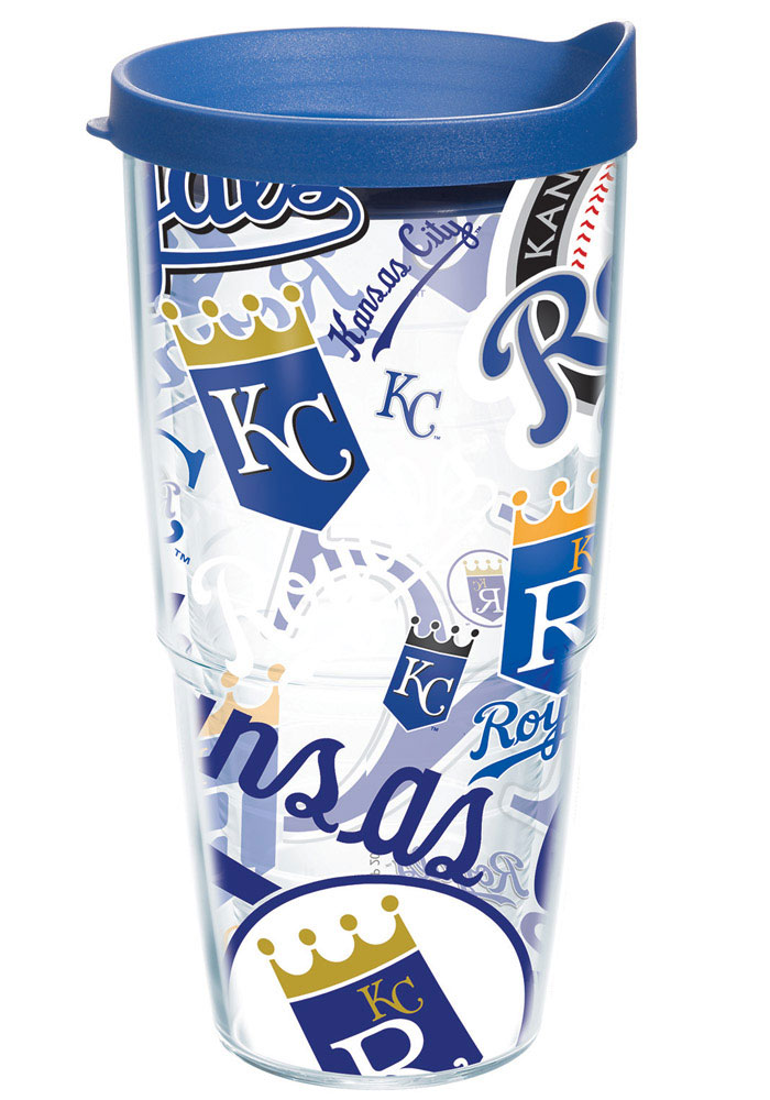Kansas City Royals All Over Tumbler - Image 1