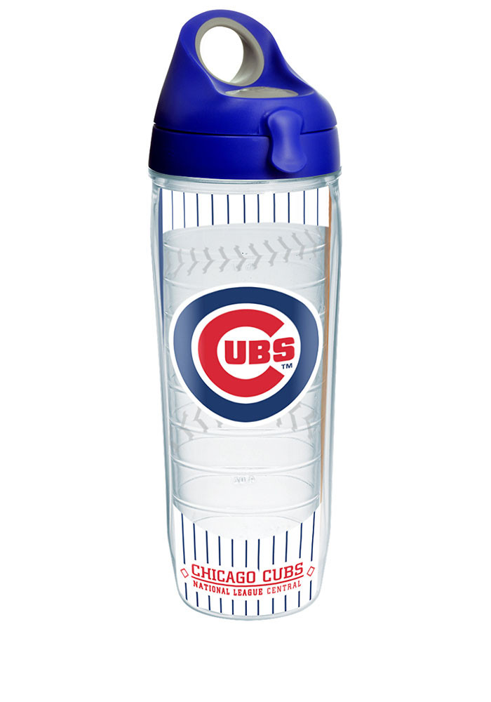 Chicago Cubs Patch Water Bottle - Image 1