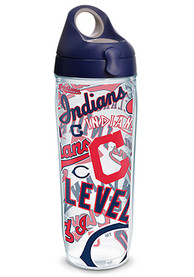 Cleveland Indians All Over Wrap Water Bottle