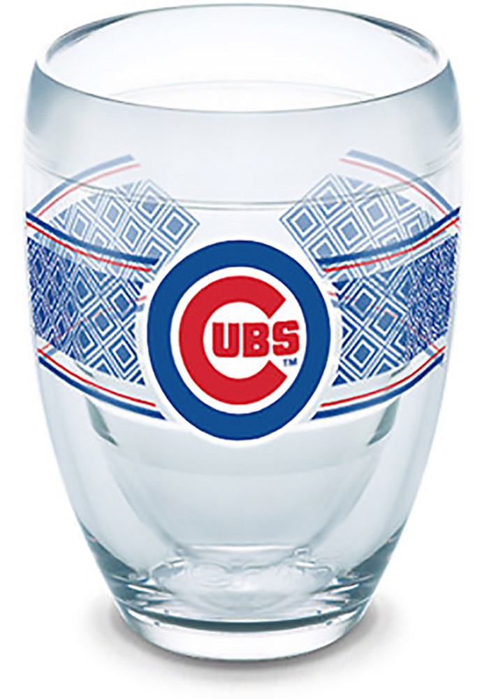 Chicago Cubs Reserve Wrap Stemless Wine Glass - Image 1
