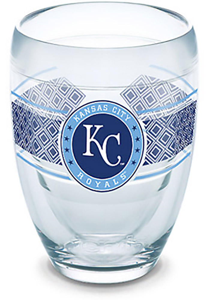 Kansas City Royals Reserve Wrap Stemless Wine Glass - Image 1