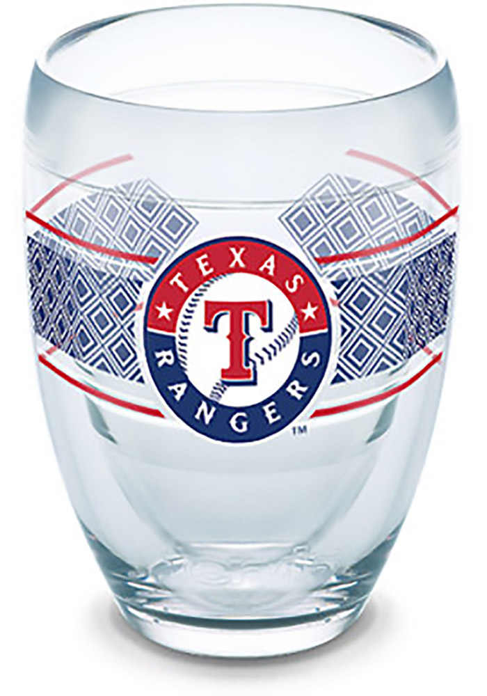 Texas Rangers Reserve Wrap Stemless Wine Glass - Image 1