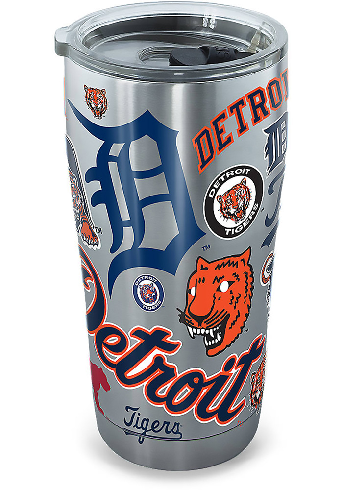 Tervis Tumblers Detroit Tigers 20oz Stainless Steel Tumbler - Grey - Image 1