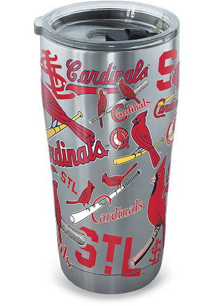 St Louis Cardinals 20oz Stainless Steel Tumbler