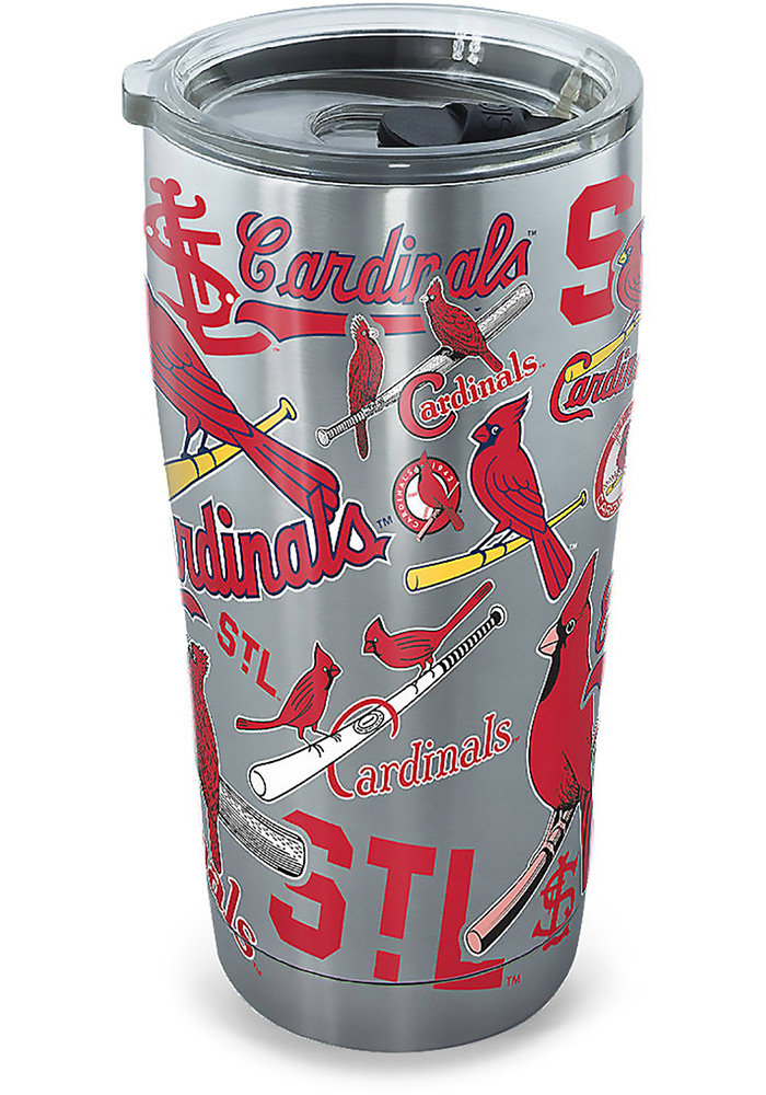 Tervis Tumblers St Louis Cardinals 30oz Stainless Steel Tumbler - Grey - Image 1