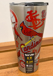 Tervis Tumblers St Louis Cardinals 30oz Stainless Steel Tumbler - Grey