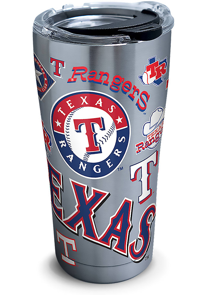 Tervis Tumblers Texas Rangers 20oz Stainless Steel Tumbler - Grey - Image 1