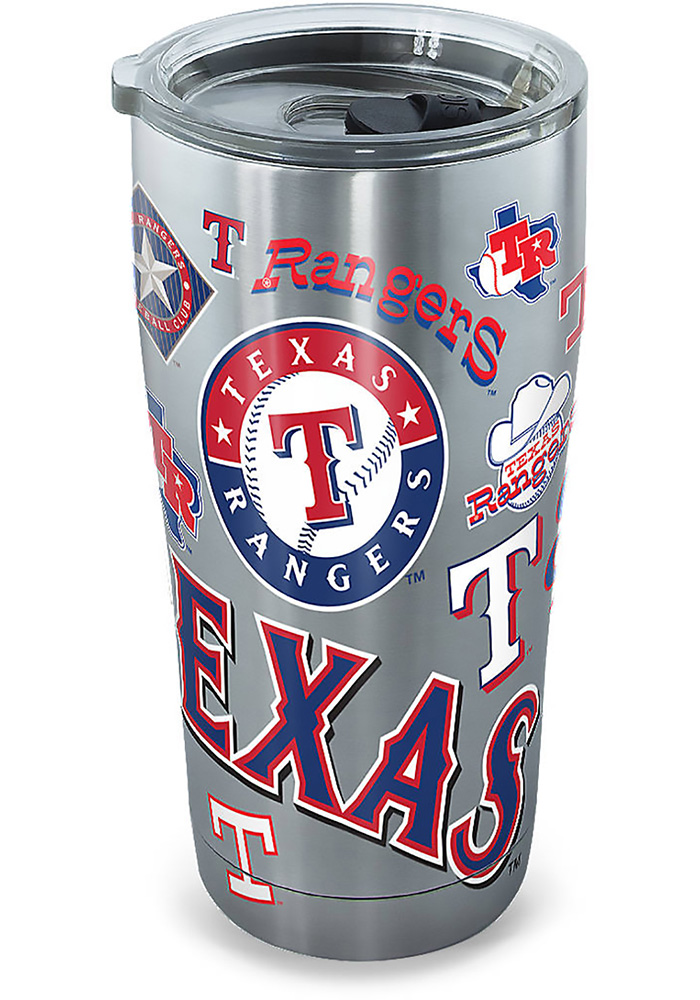 Tervis Tumblers Texas Rangers 30oz Stainless Steel Tumbler - Grey - Image 1