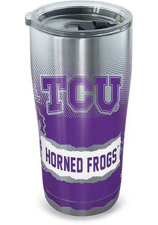 TCU Horned Frogs 20oz Stainless Steel Tumbler