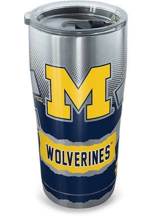 Michigan Wolverines 30oz Stainless Steel Tumbler