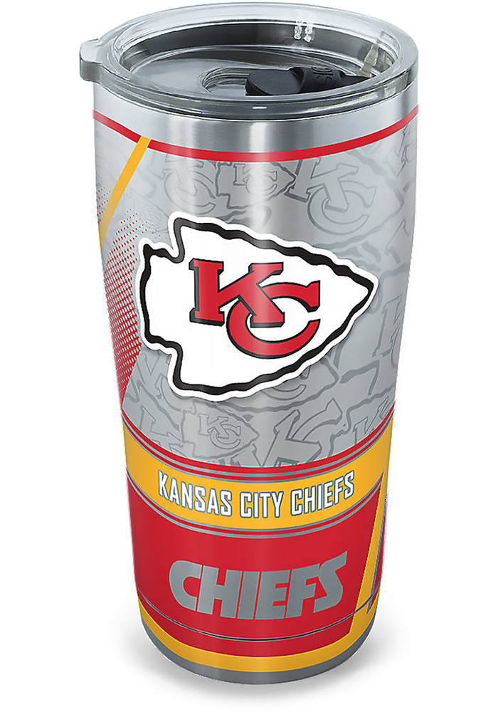 Tervis Tumblers Kansas City Chiefs 20oz Stainless Steel Tumbler - Grey - Image 1