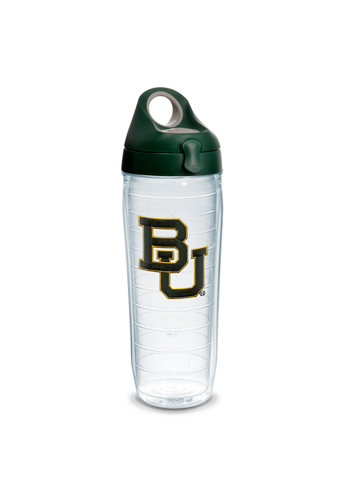 Baylor Bears 24oz Clear Water Bottle - Image 1