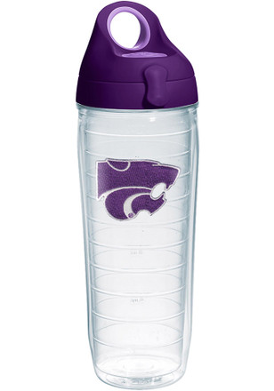 K-State Wildcats 24oz Clear Water Bottle