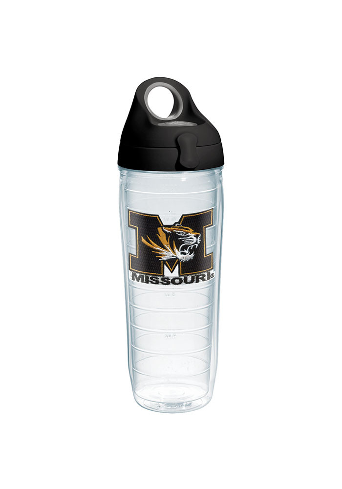 Missouri Tigers 24oz Clear Water Bottle - Image 1