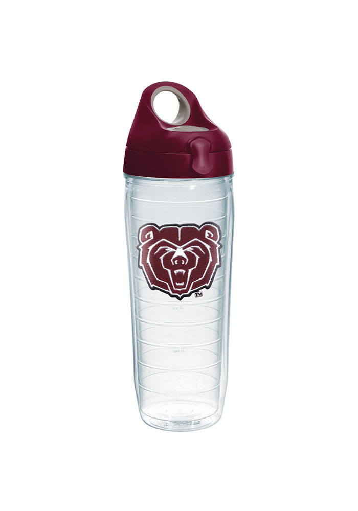 24 oz Clear Tervis Baylor College Pride Water Bottle with Grey Lid