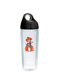 Oklahoma State Cowboys 24oz Mascot Clear Water Bottle