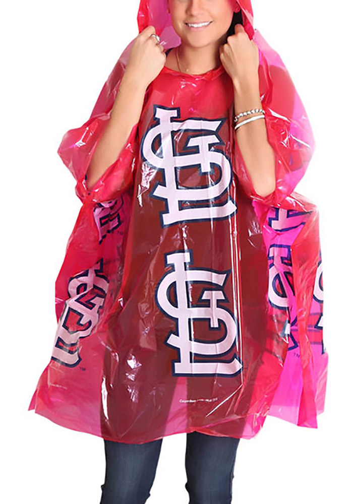 St Louis Cardinals Lightweight Poncho - Image 2