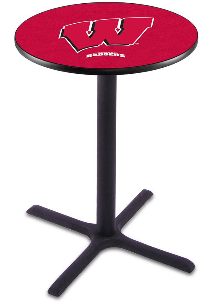 Wisconsin Badgers L211 36 Inch Pub Table - Image 1