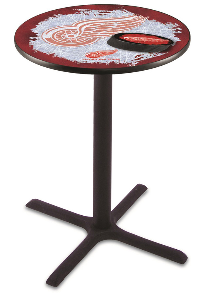 Detroit Red Wings L211 36 Inch Pub Table - Image 1