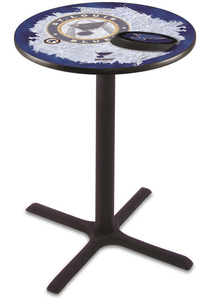 St Louis Blues L211 36 Inch Pub Table - Image 1