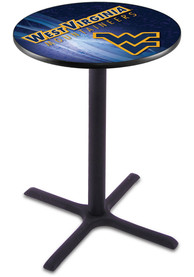 West Virginia Mountaineers L211 36 Inch Pub Table