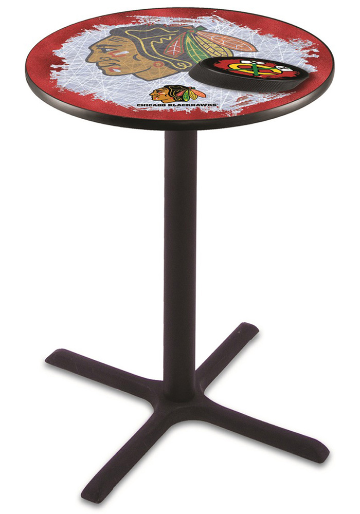 Chicago Blackhawks L211 36 Inch Pub Table - Image 1