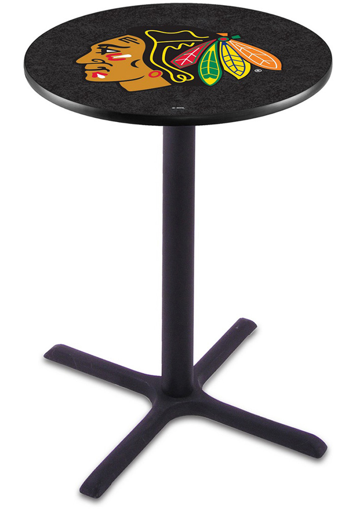 Chicago Blackhawks L211 42 Inch Pub Table - Image 1