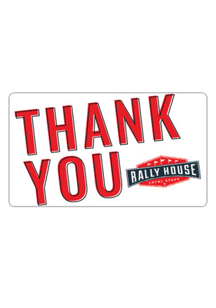 Rally House Thank You Gift Card