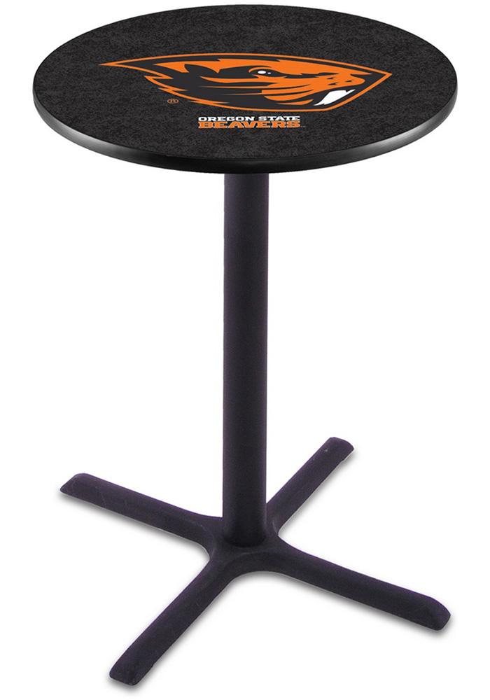 Oregon State Beavers L211 42 Inch Pub Table - Image 1