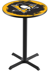 Pittsburgh Penguins L211 42 Inch Pub Table