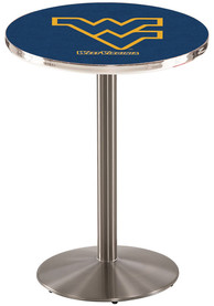 West Virginia Mountaineers L214 36 Inch Pub Table