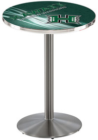 Hawaii Warriors L214 36 Inch Pub Table