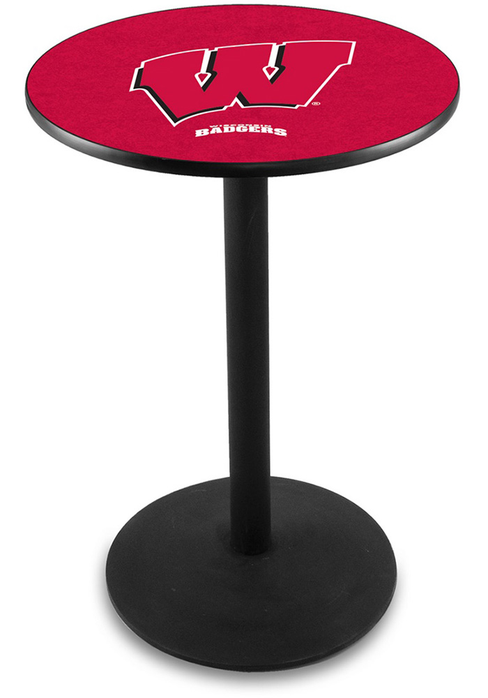 Wisconsin Badgers L214 36 Inch Pub Table - Image 1
