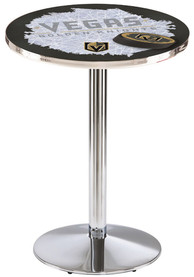 Vegas Golden Knights L214 36 Inch Pub Table