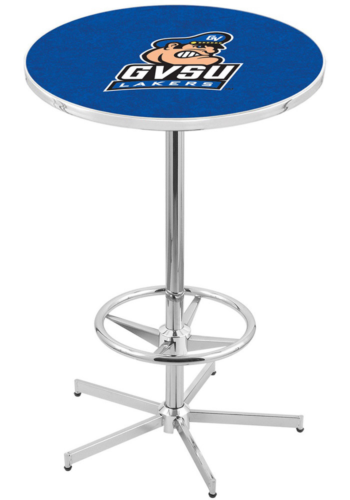 Grand Valley State Lakers Blue Pub Table - Image 1