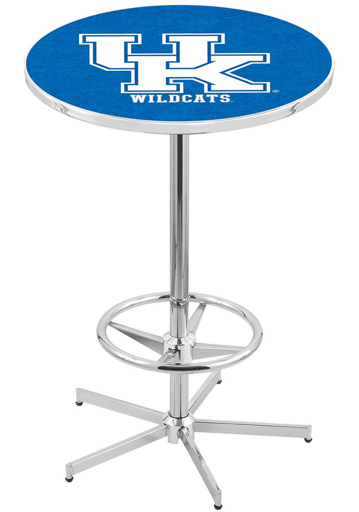 Kentucky Wildcats Blue Pub Table - Image 1