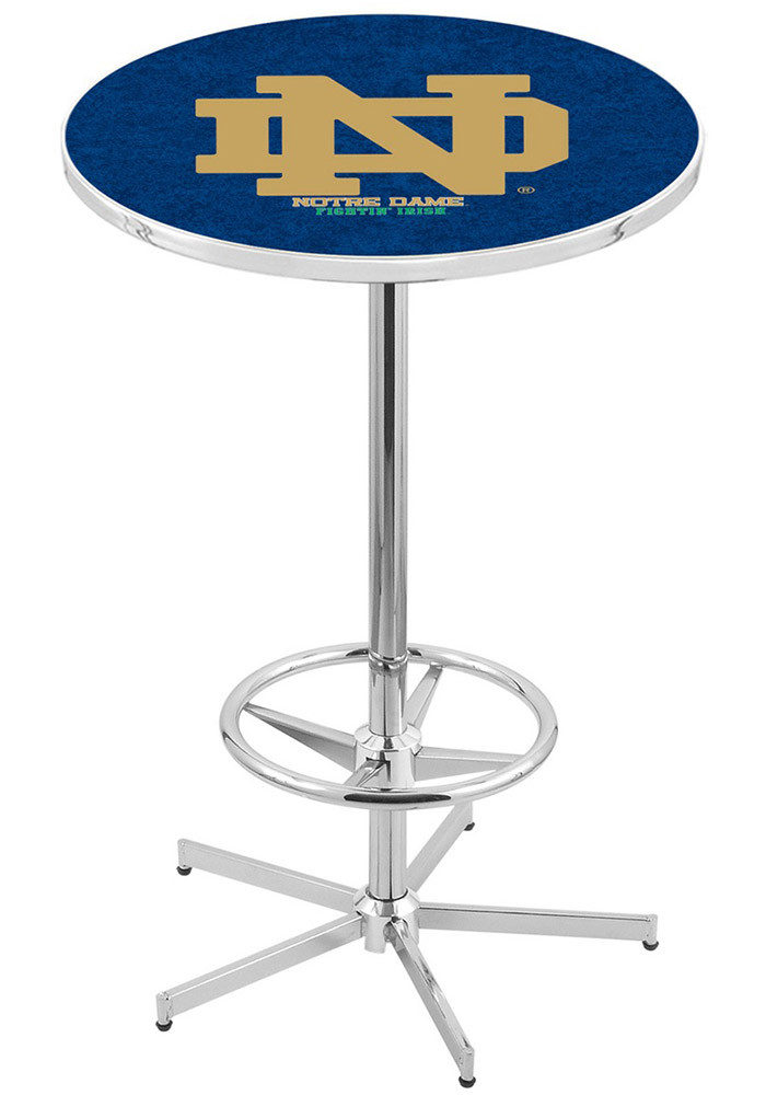 Notre Dame Fighting Irish Navy Pub Table - Image 1