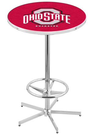 Ohio State Buckeyes Red Pub Table