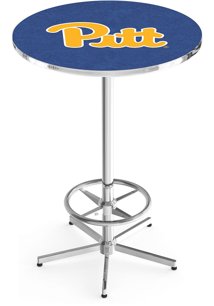 Pitt Panthers Navy Pub Table - Image 1