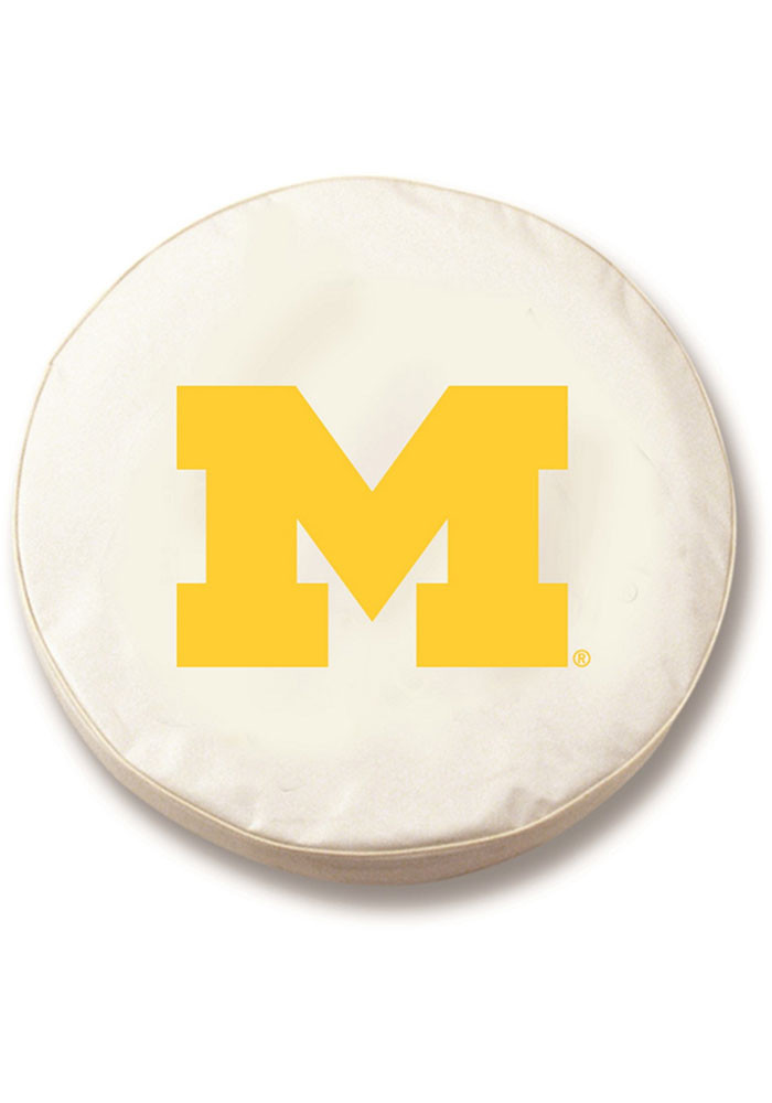 Michigan Wolverines small tire cover Car Accessory Tire Cover - Image 1